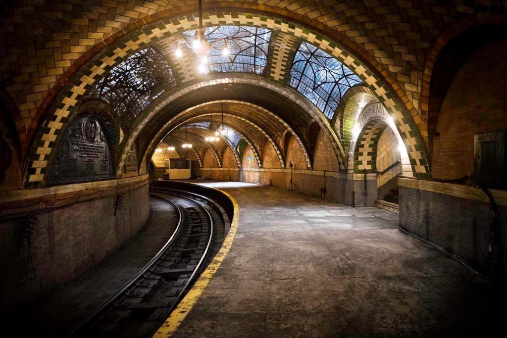 City Hall Subway Station New York City - abandoned places
