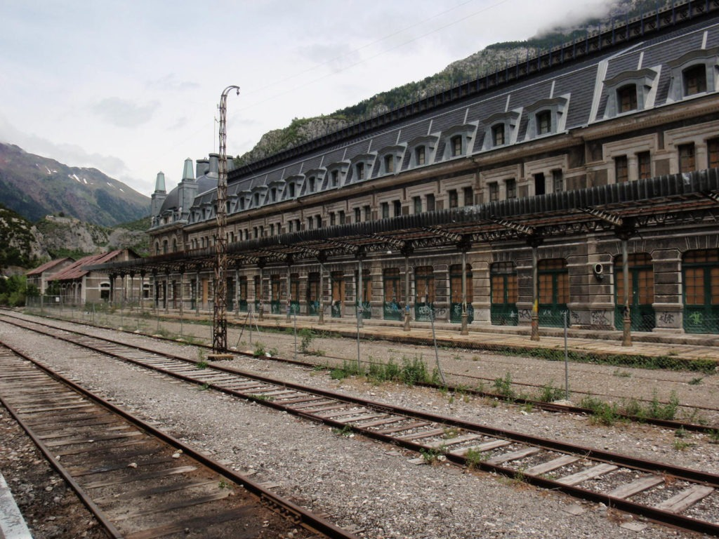 Derelict Canfranc Rail Station Spain - abandoned places