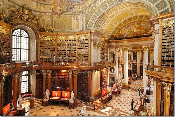 National Library Vienna Austria