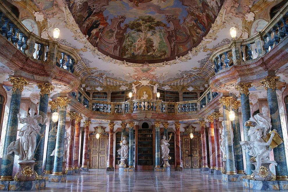 Wiblingen Abbey in Ulm Germany