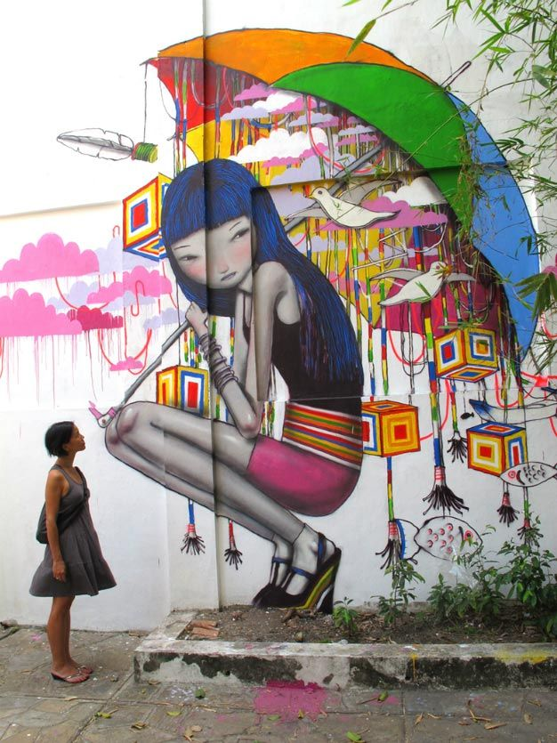 Ho Chi Minh City Vietnam street art