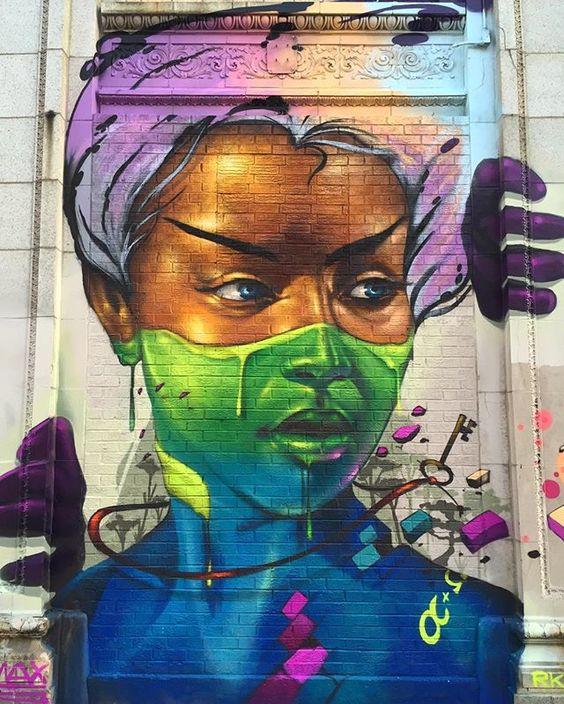 Julien Malland Street Art Chicago Illinois