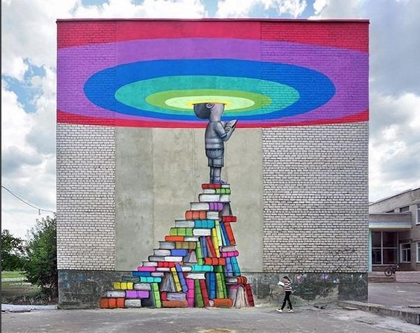 Julien Malland Street Art Ukraine