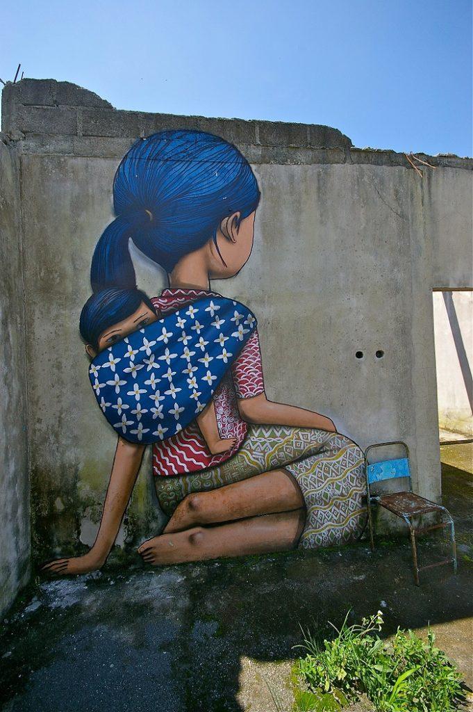 street art Merapi Indonesia seth globepainter