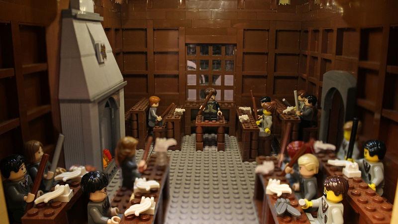 Charms classroom hogwarts
